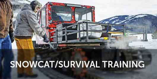 snowcat training